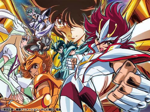 saint seiya omega Primer episodio de Saint Seiya Omega ha sido emitido en Japón