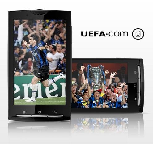 uefa aplicacion movil Sigue la Eurocopa 2012 desde tu smartphone