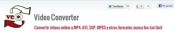 veo video converter Veo Video Converter, sencillo y eficaz convertidor de videos