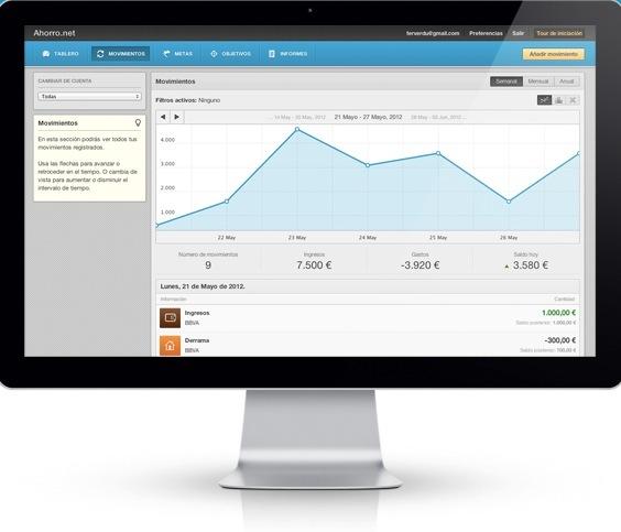 Ahorro net Controla tus gastos con Ahorro.net