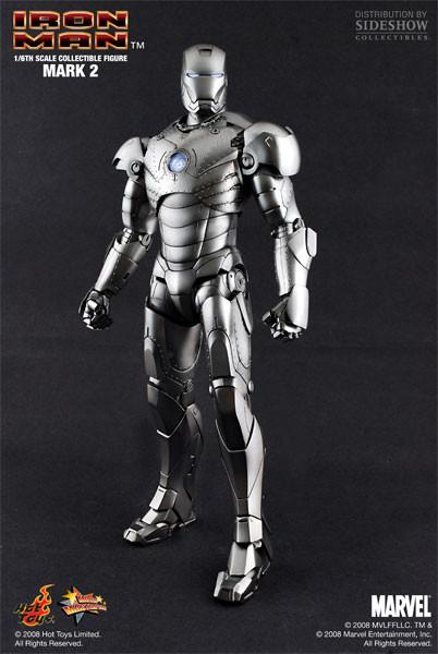 Iron Man Mark II Las armaduras de Iron Man desde la Mark I hasta la Mark VII de The Avengers