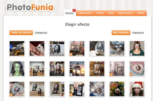Photofunia PhotoFunia, la aplicación definitiva para crear fotos divertidas y con efectos