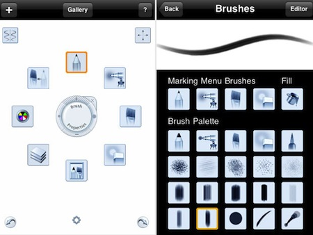 SB interface 1 apps para dibujar en tu iPhone o iPod Touch