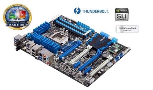 Tarjeta madre asus p8z77 v premium Asus P8Z77 V Premium, la primera tarjeta madre con soporte Thunderbolt