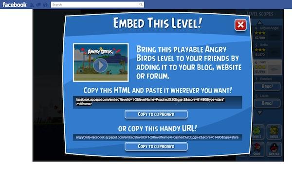 embeber angry birds Jugar niveles de Angry Birds en cualquier sitio