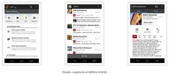 google lugares 2 590x261 Google+ búsquedas + Zagat + Places