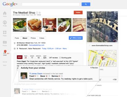 local7 590x450 Google+ búsquedas + Zagat + Places