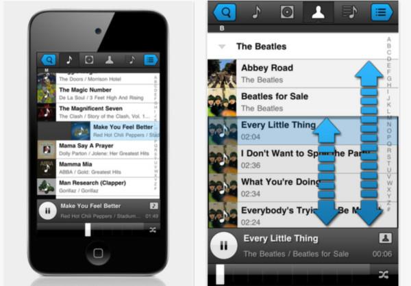 panamp reproductor musica iphone Escuchar música en iPhone / iPad