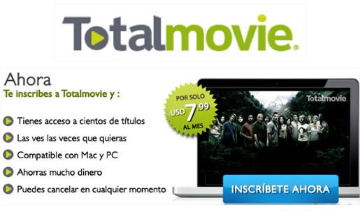 totalmovie competencia netflix Ver películas online gratis de manera legal