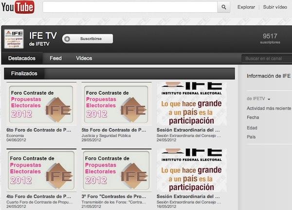 Debate presidencial youtube Ver el segundo debate presidencial de México en vivo desde Youtube