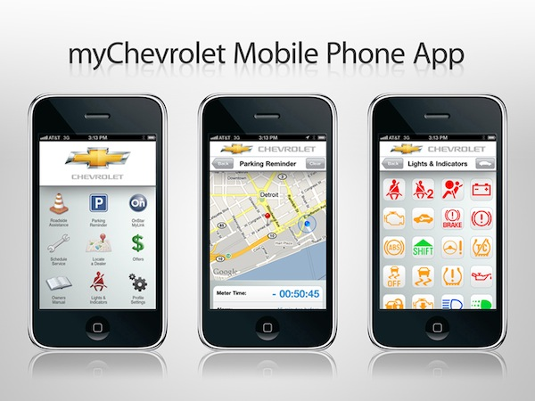 Chevrolet presenta su aplicación oficial para iOS y Android para tener el control total de tu auto