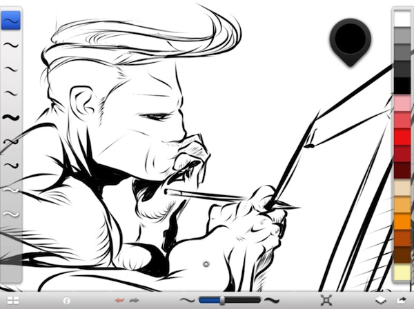 Autodesk lanza SketchBook Ink para iPad