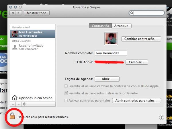 agregar cuentas usuario mac 2 Cómo crear más cuentas de usuario en Mac