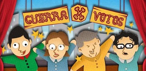 guerra x votos Guerra x votos, juega con las encuestas presidenciales en tu móvil
