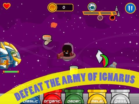 trash chaos hd playgame Trash Chaos HD, juego para niños en iPad donde aprenderán a reciclar la basura