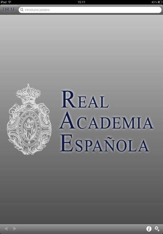 DRAE, el diccionario oficial de la Real Academia de la Lengua Española llega a iOS