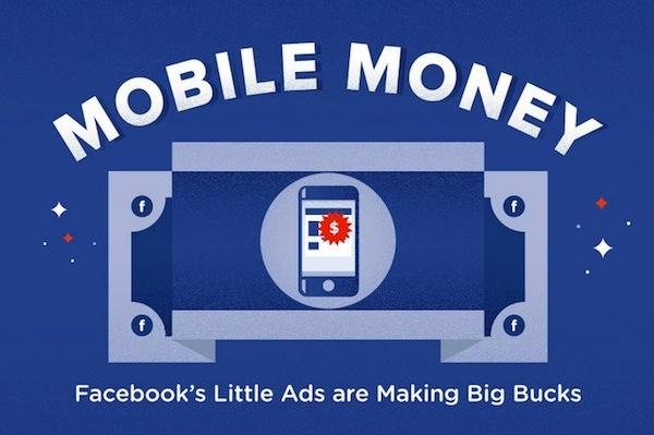 Facebook publicidad dinero Facebook, el dinero y la publicidad [Infografía]