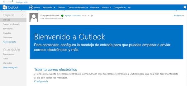Outlook Hotmail se transforma en Outlook