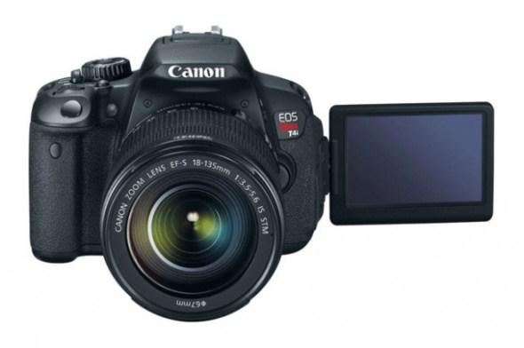 Canon EOS Rebel T4i 590x392 Canon EOS Rebel T4i ya está disponible en México