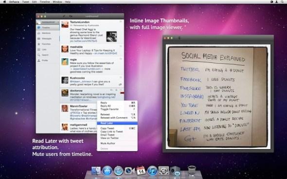 Osfoora mac 590x368 Osfoora, un genial cliente de Twitter alternativo para Mac