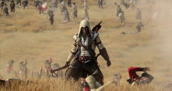 ac3standing 590x315 Assassins Creed 3 para PS3 tendrá 60 minutos de gameplay exclusivo