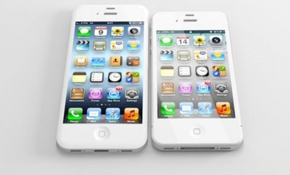 iphone 5 comparacion 590x357 Todo lo que sabemos del supuesto nuevo iPhone 5 próximo a lanzarse este 12 de septiembre