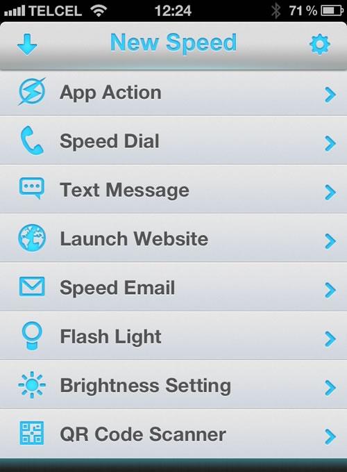 widgets iphone 2 Agregar accesos directos en el centro de notificaciones del iPhone sin Jailbreak con Speed U