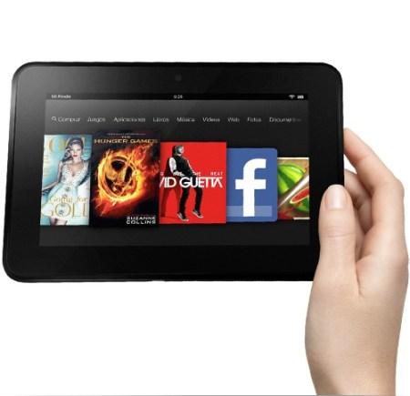 iPad Mini ayuda a mejorar las ventas del Kindle Fire HD