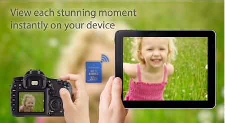 Tarjeta SD Wi-Fi de Trascend te permite enviar fotografías directamente a tu smartphone [Reseña]