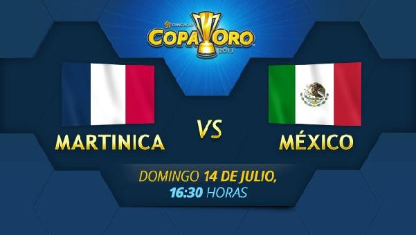 mexico martinica en vivo copa oro 2013 México vs Martinica en vivo, Copa Oro 2013