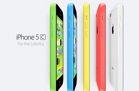 Apple presenta el nuevo iPhone 5C