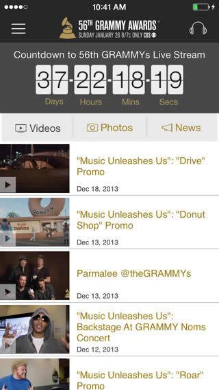 ver grammys iphone Ve la entrega de los Grammys 2014 en vivo por internet