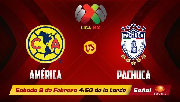 america vs pachuca 2014 América vs Pachuca en vivo, Jornada 6 Clausura 2014
