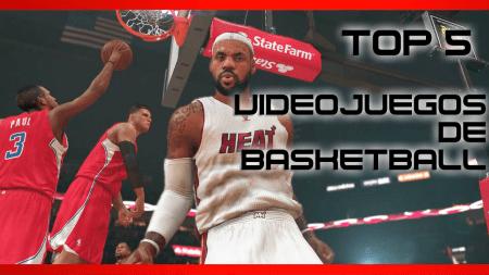 Los 5 mejores videojuegos de basketball