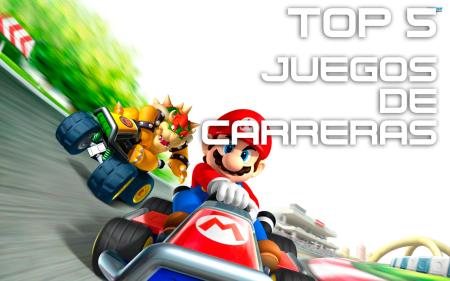 Top 5 – Mejores videojuegos de carreras