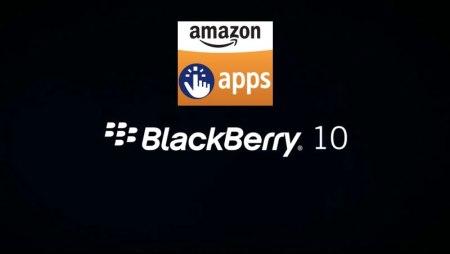 BlackBerry habilitará la Amazon AppStore en BlackBerry 10