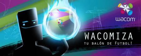 """""""Wacomiza tu Balón de Futbol"""", concurso de diseño de Wacom"""