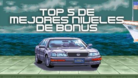 Top 5 de los mejores niveles de bonus en videojuegos