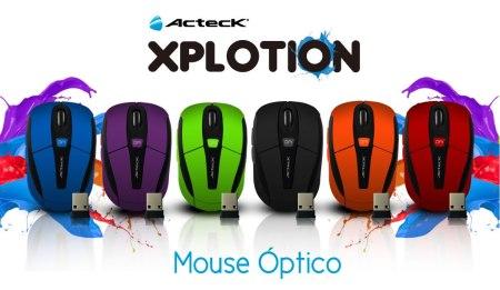 Mouse inalámbricos Xplotion de Acteck ¡Coloridos y accesibles! [Reseña]
