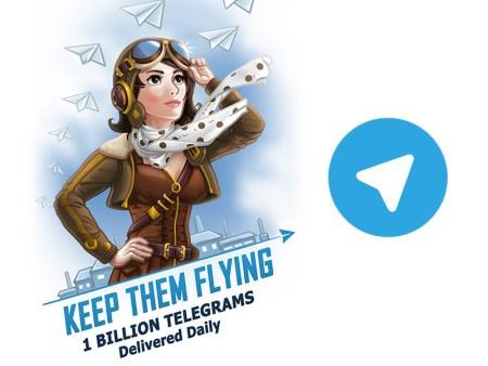 Telegram ya envía 1 billón de mensajes diariamente