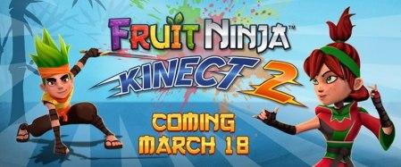 Fruit Ninja Kinect 2 para Xbox One llegará el 18 de marzo