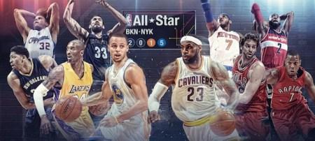 Fin de semana del Juego de Estrellas NBA en vivo desde el 13 al 15 de febrero