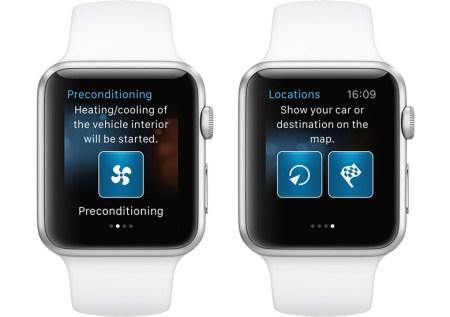 BMW i Remote, la app para controlar el BMW i desde el Apple Watch