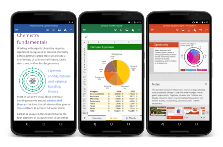Microsoft Office ya está disponible en Android