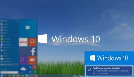 Wi-Fi Sense: la función de Windows 10 que comparte tu contraseña de red Wi-Fi