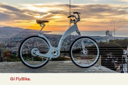 Gi FlyBike, la primera bicicleta inteligente plegable del mercado