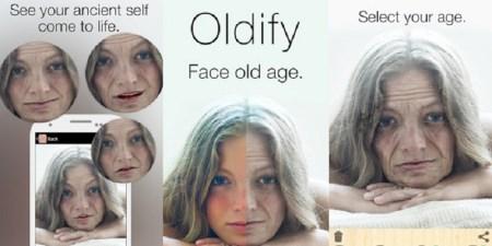 Oldify, una app para afrontar tu vejez