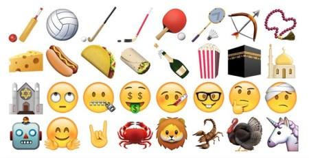 """Llegan """"emoji grosero"""" y del taco con la actualización iOS 9.1"""