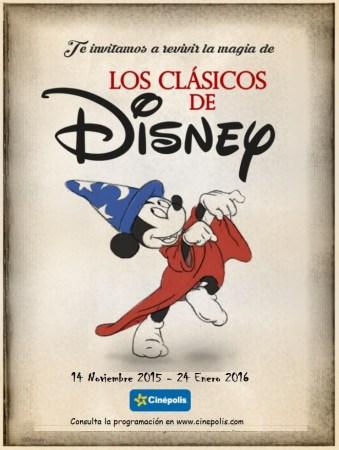 20 clásicos de Disney vuelven a Cinépolis