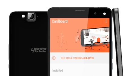 Yezz lanzará smartphone Android compatible con realidad virtual